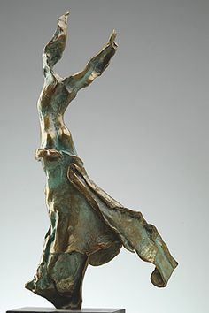 "Salvador Dali's ""Terpsichore: Muse of the Dance"" bronze. Edition of19 P.E. examples worldwide. www.robinrile.com"