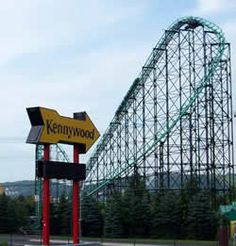 Kennywood Park... Went there every summer. This is still the best amusement park anywhere!