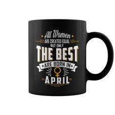 April birthday Mug Coffee for women