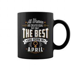 April birthday Mug Coffee for women