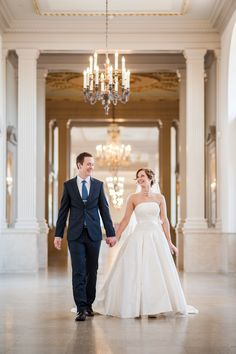 An Romantic Spring Wedding at The Henry Ford in Dearborn, Michigan