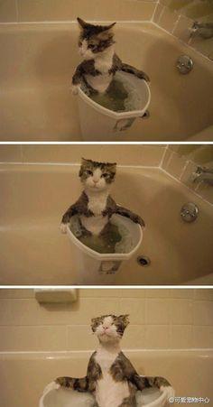 Sometimes...you just gotta soak in the tub!