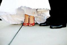 Zapatitos rojos para casarse
