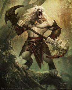 """Race Inspiration: Sveket, the """"beastmen"""""""