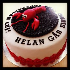 Crayfish party cake