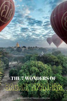 7 wonders of bagan,myanmar