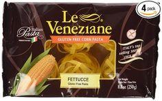 Le Venezian - Italian Fettucee [Gluten Free] (4) - 8.8 Oz Pkgs  Price: 15,88 $  https://www.amazon.com/gp/product/B00EBE831Y/ref=as_li_qf_sp_asin_il_tl?ie=UTF8&tag=bestselle0b0f-20&camp=1789&creative=9325&linkCode=as2&creativeASIN=B00EBE831Y&linkId=ec9bc896147f68d0b681870b6e47105a