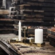 Contemporary candle holders. #Modern #Design.