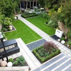 Birdseye view: modern Garden by Earth Designs