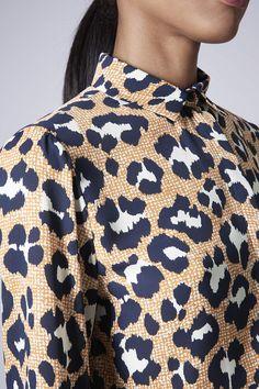 d693e81edcf3 Womens Next Ecru Abstract Animal Printed Dress - White