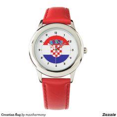 Croatian flag watches