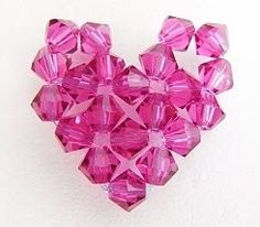 Free Beaded Heart Tutorial featured in Sova-Enterprises.com Newsletter!
