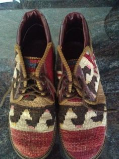 Kilim Tapestry Boots by Lilasloot