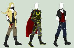 Male Outfit Adopts 3 - SOLD by ShadowInkAdopts.deviantart.com on @deviantART