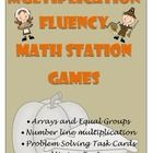 Your students will get plenty of practice becoming fluent in multiplication with these math station games.  Students will use number lines, equal groups, arrays, and missing factors to get a better understanding of multiplication.  On sale at TpT.  Check it out!
