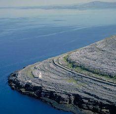 The Burren meets the Atlantic - Clare, Ireland #wildatlanticway