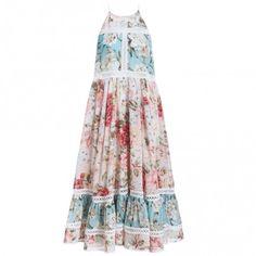 Georgia Floral Sun Dress - Clothing - Swim & Resort