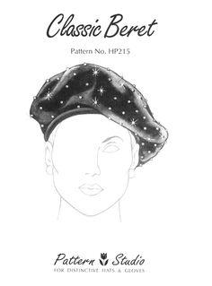 Vogue beret pattern