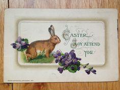 John Winsch Vintage Easter Post Card 1912 | eBay