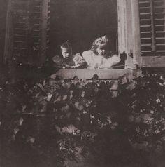 Tatiana & Olga at their Uncle Ernie's home - Darmstadt, Hesse, 1899