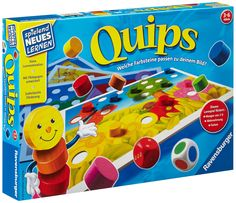 Quips - game for learning colours