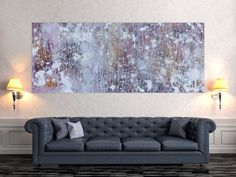 Love Seat, Modern, Abstract Art, Couch, Furniture, Home Decor, Abstract Canvas Art, Pastel Colors, Trendy Tree