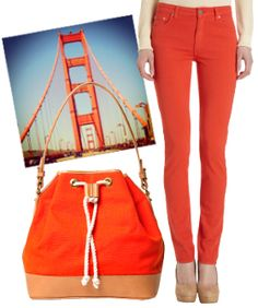 20 Golden Gate-Inspired Pieces For Our Bridge's Big Day from #refinery29. awesome!