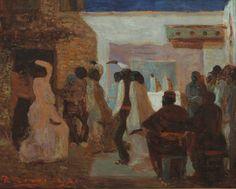 pedro figari - candombe bajo la luna, 1922