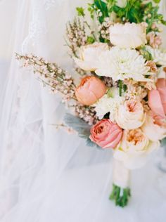 Beautiful bouquet: http://www.stylemepretty.com/2015/05/11/tropical-refined-fort-lauderdale-wedding/   Photography: Perry Vaile - http://www.perryvaile.com/
