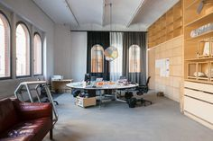 Olafur Eliasson's Office & Studio in Prenzlauer Berg, Berlin | Yellowtrace
