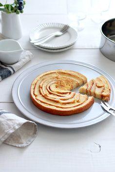 100均のケーキ型でアレンジパンの耳で作るぐるぐるフレンチトースト