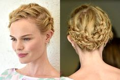 8 end-of-summer hairstyles to try right now: Kate Bosworth's crown braid