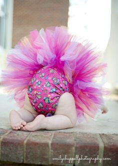 Grovia Peacocks Inspired Tutu - Cloth Diaper Accessory by littlehbigstyle.etsy.com