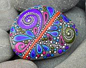 Happiness Within / Painted Rock / Sandi Pike Foundas / Cape Cod