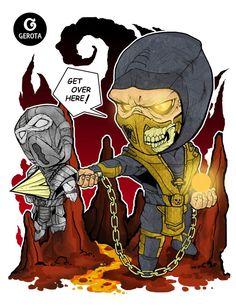 Scorpion - Chibi Art by Gregory Indrakusuma