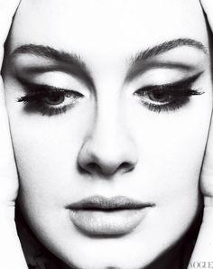 Grammy Winner Adele Glows in Vogue!!!