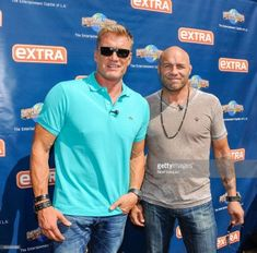 Dolph Lundgren, Randy Couture And