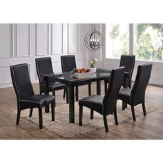 Take your dining experiences to a heightened level with this elegant dining table.