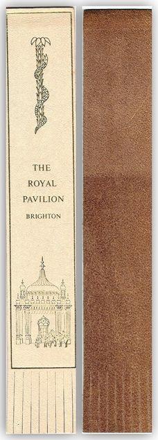 The Royal Pavilio Brighton [Lesezeichen] von | LibraryThing