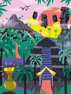 Área Visual - Blog de Arte y Diseño: Las ilustraciones de Marijke Buurlage