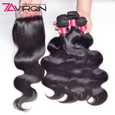 7A Brazilian Body Wave With Closure 4 Bundles Brazilian Virgin Hair With Closure Peerless Human Hair Bundles With Lace Closures♦️ SMS - F A S H I O N  http://www.sms.hr/products/7a-brazilian-body-wave-with-closure-4-bundles-brazilian-virgin-hair-with-closure-peerless-human-hair-bundles-with-lace-closures/ US $28.52
