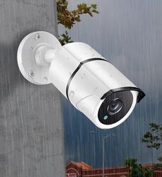 Ansjer Outdoor Cameras Working hard to give you security in rain, snow, sleet, or hail. Security Monitoring, Cctv Security Systems, Outdoor Camera, Outdoor Dog, Security Camera System, Security Alarm, Alarm Companies, Hiding Spots, Alarm System
