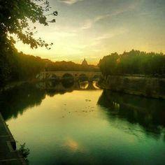 Summer ending in Rome