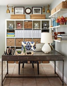 home office organization ideas. Little Miss Holls: Home Office Envy. Organized Organization Ideas