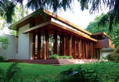 The story of how Frank Lloyd Wright's Bachman Wilson House found its way to Arkansas is one of stewardship, devotion and sacrifice