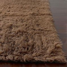 carpet until you replace the carpet this wool flokati rug would add softness and chocolate great price handwoven alexa flokati wool shag rug 5u0027 x