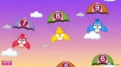 Numbers Song for Children - Learn to Count Numbers from 1 to 10 - Nurser...