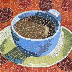 Tina Blanck Mosaic Crafts, Mosaic Projects, Mosaic Art, Mosaic Glass, Mosaic Tiles, Fun Projects, Glass Art, Mosaic Designs, Mosaic Patterns