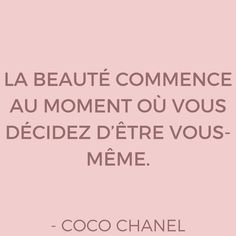 Bonjour à tous ! J'espère que vous passez tous un excellent dimanche ! Voici l'une de mes citations préférée par #CocoChanel Retrouvez toutes nos citations par Chanel sur le blog et téléchargez vos IG pics! #SelfrenchChannel #ParlerFrancais #FrenchPronunciation #FrenchVocabulary #FreeFrenchLessons #FrenchOnline #LearnFrench #French #France #français #Bonjour #vocabulary #FrenchWord #Paris #Parisianlife #Parisienne #thatsdarling #pursuepretty #lifeincolor #pink #lifeinpink