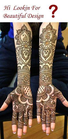 looking For Beautiful mehndi design Mehndi Designs Bridal Hands, Arabic Mehndi Designs Brides, Wedding Henna Designs, Mehandhi Designs, Indian Henna Designs, Engagement Mehndi Designs, Full Hand Mehndi Designs, Henna Art Designs, Mehndi Designs For Girls